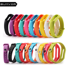1 pcs Xiaomi mi band 2 Wrist Strap Belt Silicone Colorful Wristband for Mi Band 2 Smart Bracelet for Xiaomi Band 2 Accessorie все цены