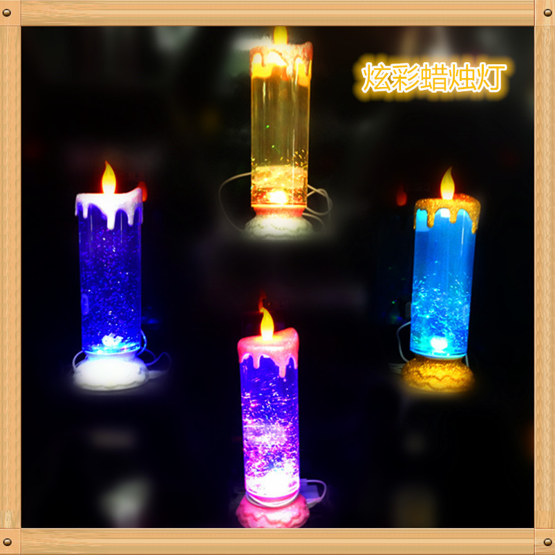 Corbett Lighting Party All Night: Colorful Rotating Candle Light Water To Sequins Colorful