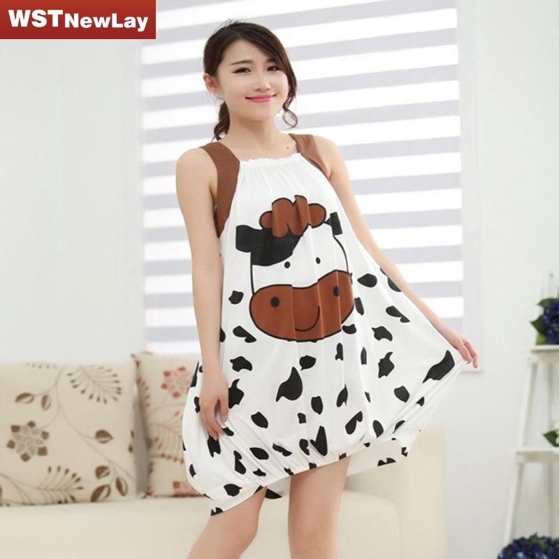 Cotton night dress plus size