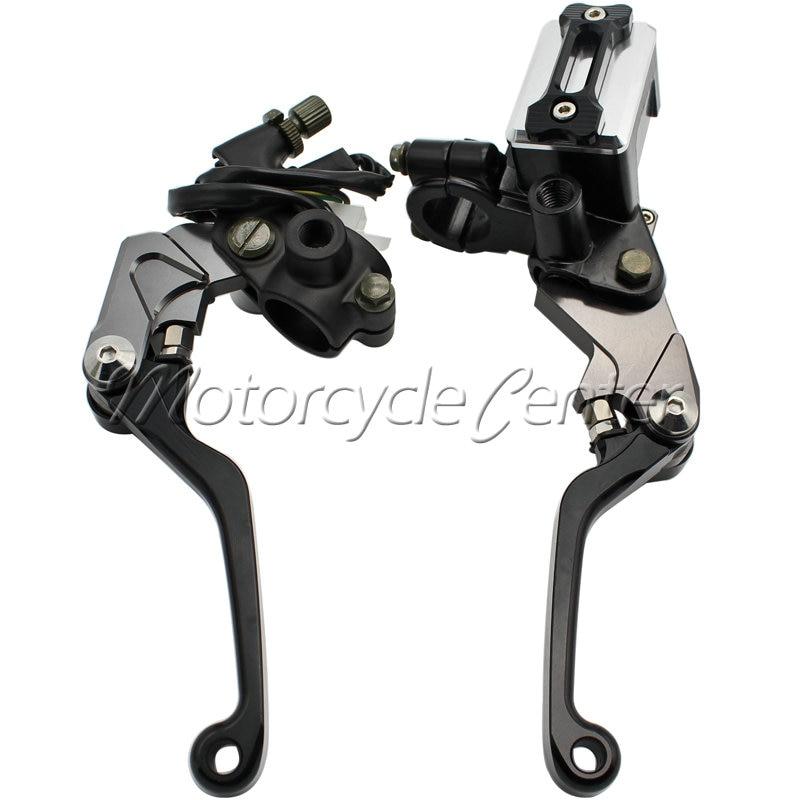 7/8 22mm Motorcycle Brake Hydraulic Master Cylinder Kit Reservoir Levers For KTM 125 144 250 SX XC 450 505 350 SX-F XC-F XCF-W 38mm cylinder barrel piston kit