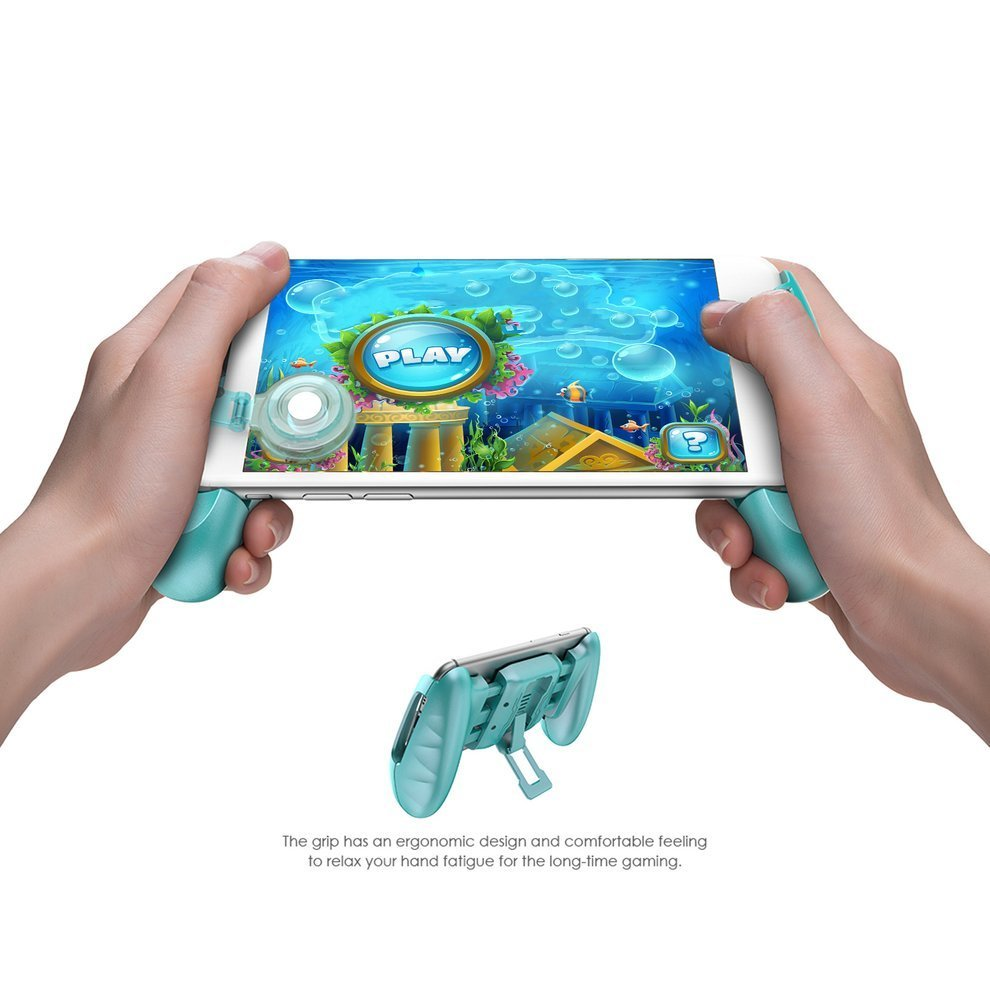 F1 Joystick Grip with Swing Arm Extended Handle Game Accessories Controller Grip for All SmartPhone PINK BLUE BLACK