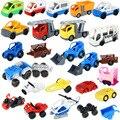 Grandes bloques de construcción de ladrillos a granel accesorio bus coche de policía jeep barco pirata helicóptero coche compatible bebé diy juguetes
