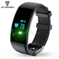 D21 Heart Rate Monitor Smart Bracelet Swimming Alarm Clock Step Counter Call Message Reminder Smartband for IOS&Android Phone