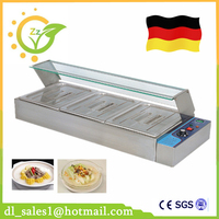 Germany Stock 3 Pans Electric Soup Pot Stainless Steel Bain Marie For Professional Commercial Kitchen Free