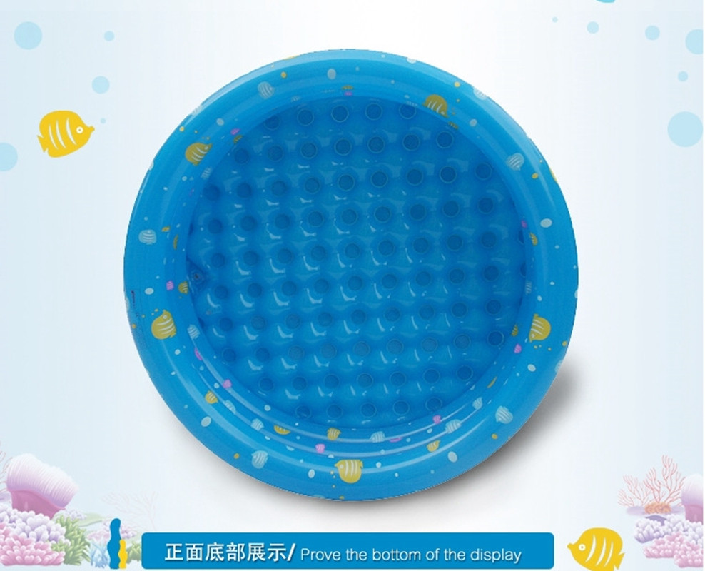 Kiddie piscina redonda portátil inflável banheira de