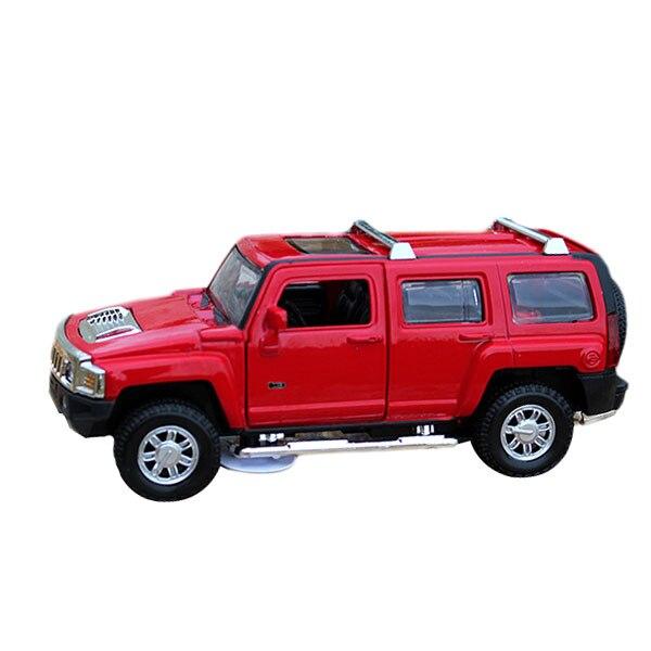 Coche Del RC 1:32 Escala Diecast Modelo de Coche SUV Juguete Sound & Light Vehíc