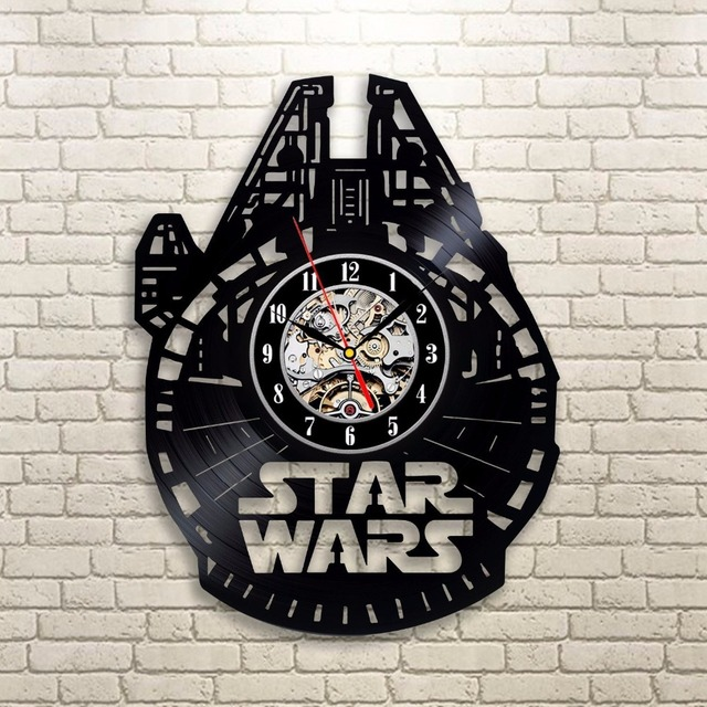 Home Living Vinyl LP Record CD Wall Clock 3D Modern Design Hanging Watches for Home Decoration 3