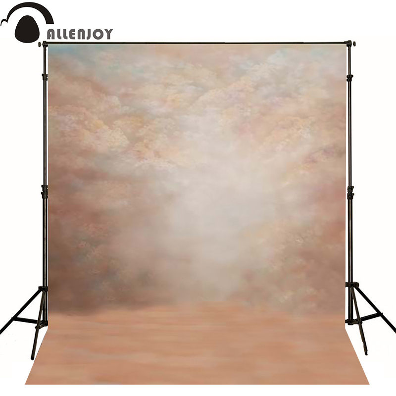Allenjoy vinyl backdrops for photography classic pale pink old master photo background childern baby photoll christmas
