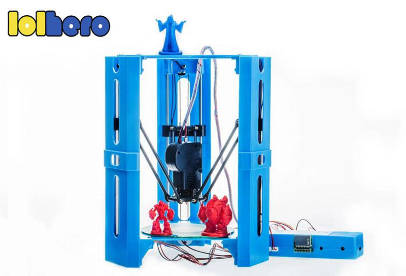 101Hero Newest High Precision 3D Printing Upgraded MiNi Desk Kossel Delta 3D Metal Printer DIY Kit Filament DV Versions Free original anycubic 3d pinter kit kossel pulley heat power big size 3d printing metal printer fast shipping from moscow