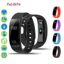 QS80 фитнес трекер сердечного ритма Bluetooth браслет Sleep Monitor Водонепроницаемый Вибрационный будильник смартфон браслет PK xaomi