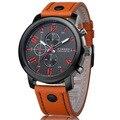 Mens relógios top marca de luxo relógio de quartzo curren fashion business casual relógio masculino de pulso de quartzo-relógio relogio masculino