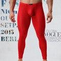 Super thin Leggings Hombres Long Johns Invierno Mens Pantalones Térmicos Ropa Interior de Algodón Térmico Pantalones Pantys Ropa Sexy Para Hombre