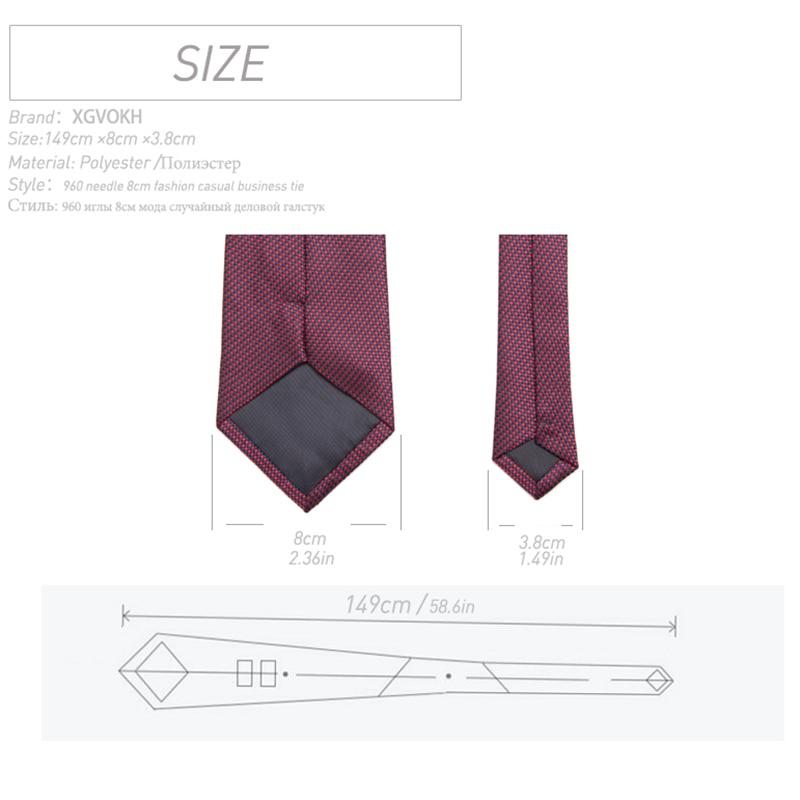 Męski krawat Formalny ślub firmowy vestidos Klasyczny pasek - Akcesoria odzieżowe - Zdjęcie 2