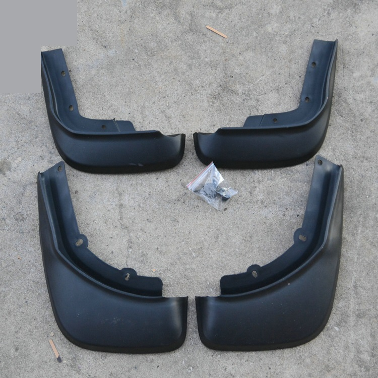 High-quality plastic Mud Flaps Splash Guard Fender car styling for 2014 Volvo XC60 Car styling fit for range rover 06 13 l322 mudflaps mud flap splash guard mudguards fender free shipping lzh