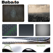Babaite My Favorite Grey Large Mouse pad PC Computer mat Size for 18x22cm 25x29cm Rubber Mousemats