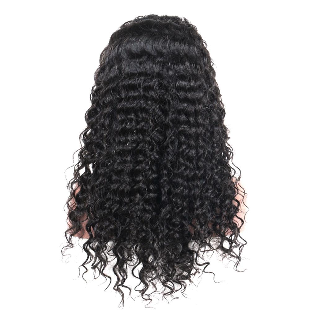 250% Loose Wave Lace Front Human Hair Parykker For Women Natural - Menneskehår (sort) - Foto 6