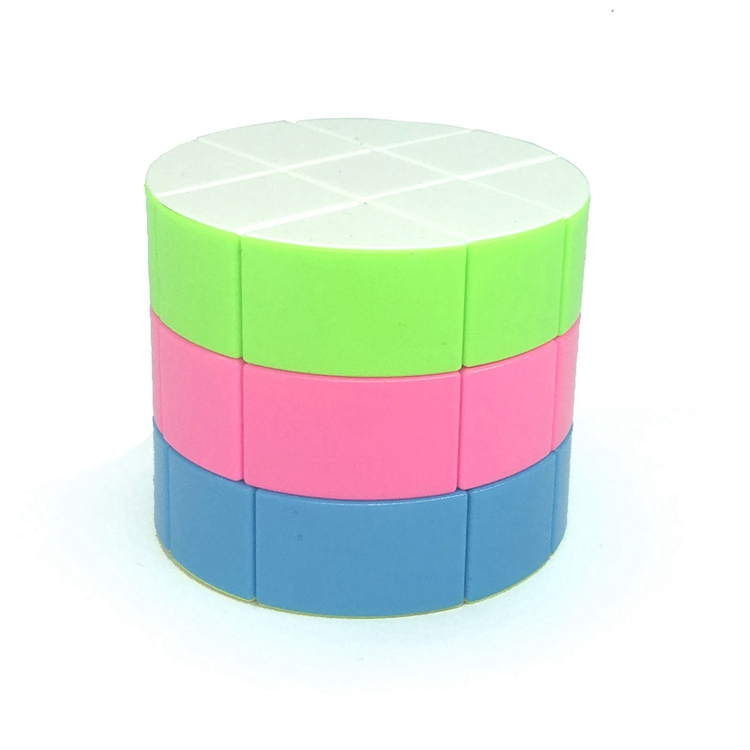 ZCUBE Cloud 3-layer Cylinder 3x3 Cubing Speed  Colorful Puzzle Magic Professional Twist Educational Kid Toys Drop Shipping 6