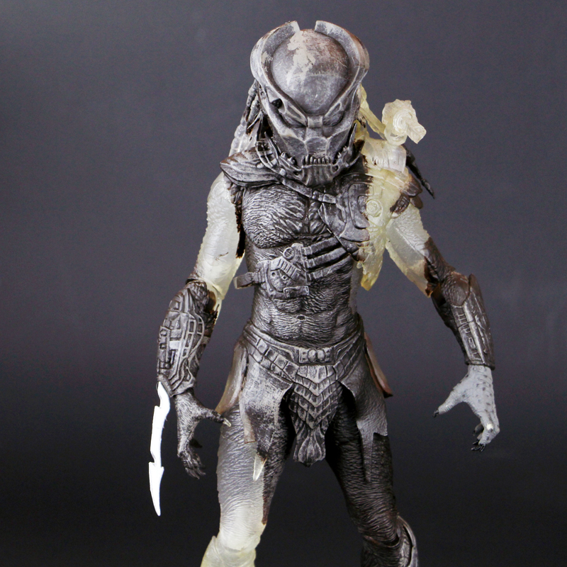 NECA 7 inches 18cm Alien vs Predator Invisible version of Lion 3 different styles neca figures out of this world alien acehugger