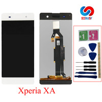 Original For Sony Xperia XA F3111 F3112 F3113 F3115 F3116 LCD touch Screen Panel display Digitizer Assembly+frame Replace Parts