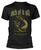 Sick Of It All 'Panther' (Black) T Shirt NEW & OFFICIAL! 2019 fashion t shirt 100% cotton tee shirt tops wholesale tee