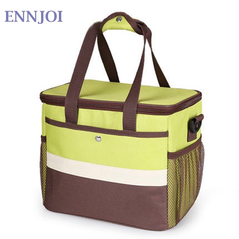 Picnic Bags Thermal Cooler Waterproof Insulated Portable Tote Picnic  Bag Food Box Handbag Outdoor Picnic Storage Lunch Bag