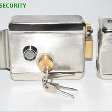 LPSECURITY домашний завод складские ворота двери электрический контроль дверной замок для 12 В DC домофон с доступом Система управления