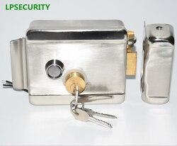 Lpsecurity casa fábrica armazém portão da porta de controle elétrico fechadura da porta para 12 v dc sistema controle interfone acesso
