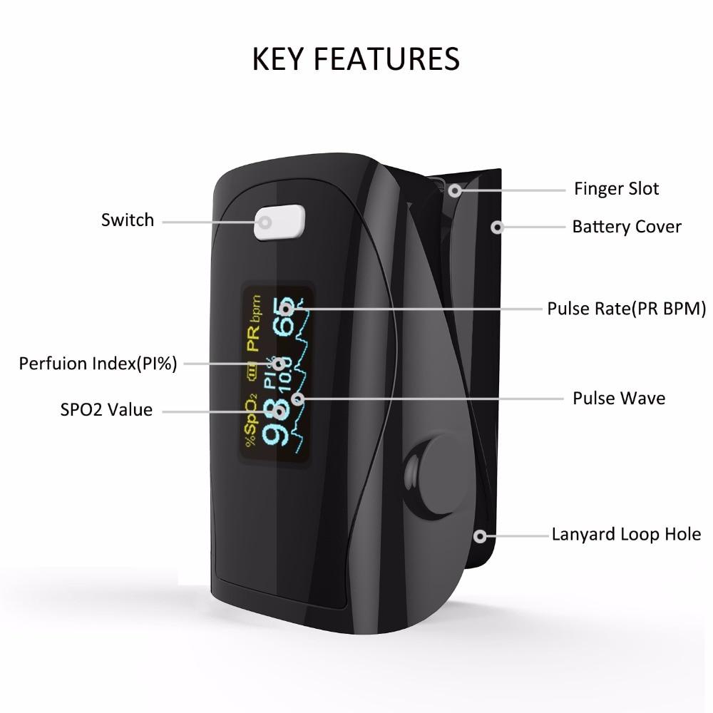 Pulse Oksimeter, Jari Oximetro, Mengukur Akurat Untuk Peralatan - Perawatan kesehatan - Foto 2