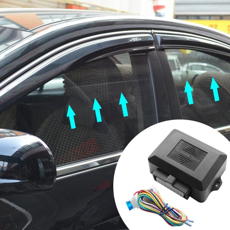 Universal 12V Car Power Window Roll Up Closer Module Alarm System For 4 Door Car Auto Close Windows Glass Automatic Lifter Set(China)