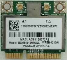 SSEA für Broadcom BCM94313HMG2L BCM4313 Hälfte Mini PCI-E WLAN Karte für IBM Lenovo B490 B590 G575 Y470 G575 Y470
