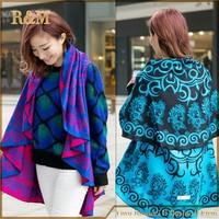 RUNMEIFA Fashion Long Women Scarves Winter Stole Pashmina Wool Cashmere Scarf Designer Tippet Super Warm
