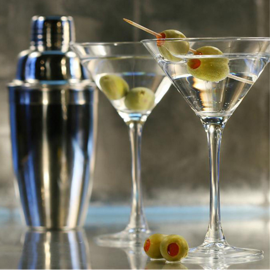 Stainless Steel Cocktail Shaker Mixer Wine Martini Shaker For Bar Party Bartender Tools Bar Accessories 250ML 350ML 550ML 750ML in Cocktail Shakers from Home Garden