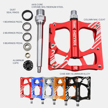 цены Mzyrh307bicycle pedal BMX MTB mountain/bike pedal 3 sealed bearing ultraligh light alloy pedal anti-slip design perfect for bike