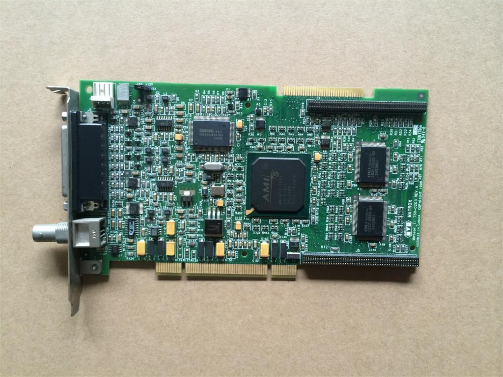 para Frame Grabber Rev. a Matrox Meteoro 750-0203 Rev. a 2 – 4