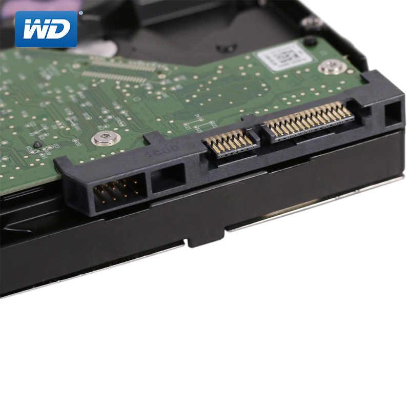 """WD الأزرق 1 تيرا بايت محرك الأقراص الصلبة الداخلي القرص 3.5 """"7200 RPM 64M ذاكرة SATA III 6 جيجابايت/ثانية 1000GB HDD HD القرص الصلب ل كمبيوتر مكتبي"""