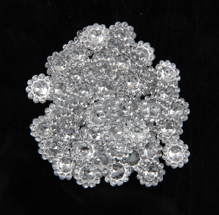 Nishine 300pcs/lot 11mm Hotfix Bling Acrylic Pointback Rhinestone Buttons Artificial Plastic Decorative Crystal Strass Beads
