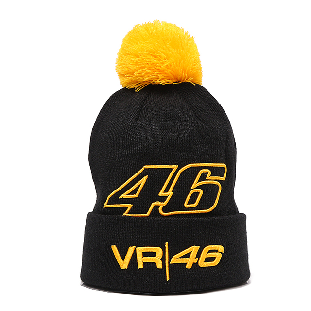 2017 new Caps Wholesale Rossi 46 Embroidery Men women Skullies Hat  Motorcycle Racing winter VR46 Sport