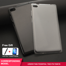 SZOXBY For Lenovo Tab4 7 Essential Case TAB4 Inch Tablet TB-7304F/N Clear Soft Anti-Fall TPU Simple Cover