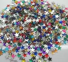 1000Pcs Mixed Acrylic Stars Decoration Crafts Cabochon Scrapbooking  Embellishments Flatback Nail Art Garment Beads DIY a2e5723a8ebc