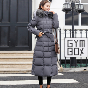 Image 5 - Fitaylor ผู้หญิงฤดูหนาวยาวผ้าฝ้าย Parkas ขนขนาดใหญ่ Hooded Coat Casual อุ่นแจ็คเก็ต Wadded หิมะ Overcoat