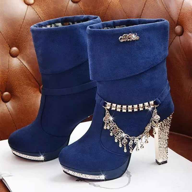 Womens Boots 2018 New Snow Ankle Boots Autumn And Winter