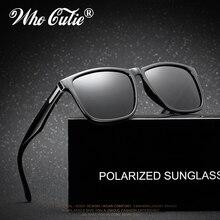 c0048189c الذين كتي 2018 الاستقطاب توم النظارات الشمسية للرجال القيادة عالية الجودة  مربع إطار الذكور نظارات شمسية الصيد داكن أسود عدسة 439