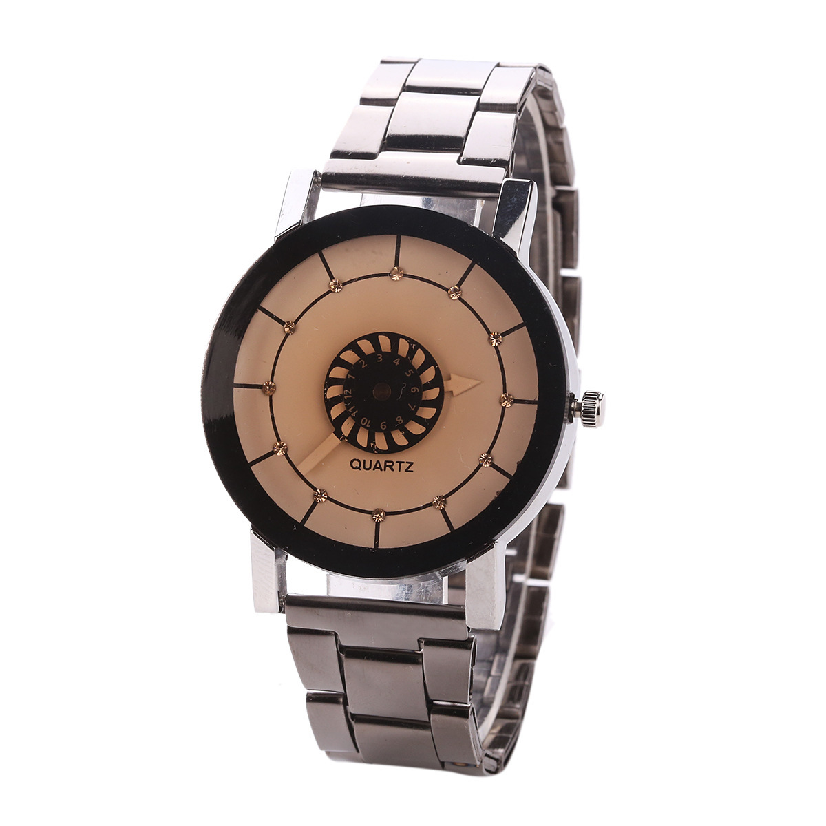 2018 Fashion High-end Men Ladies Quartz Watch Concise Clock Lovers Stainless Steel Wrist Watch Jewelry Gift For Men Women