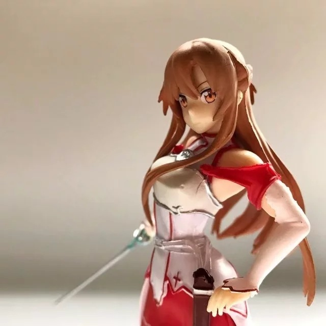 17.5CM Japanese anime figure Sword Art Online Yuuki Asuna action figure collectible model toys for boys ynynoo to love darkness yuuki mikan action figure wedding dress underwear ver mikan yuuki pvc figure toy brinquedos anime 24cm