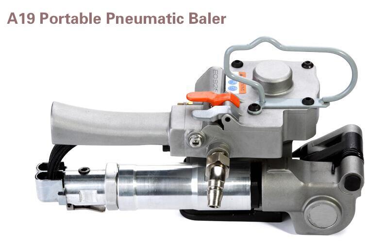 A19 Pneumatic Balers deduction Package Machine steel belt Packer strapping machine hot melt machine