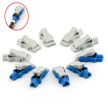 10pcs/set Free Shipping 4.0 Banana to Snap/Button Adult ECG Clips Adapter, Cable Accessories