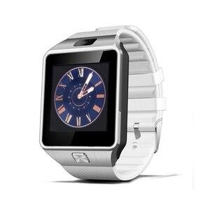 Image 4 - Écran tactile montre intelligente dz09 avec caméra Bluetooth montre bracelet carte SIM montre intelligente pour Ios Android téléphones prennent en charge Multi langua