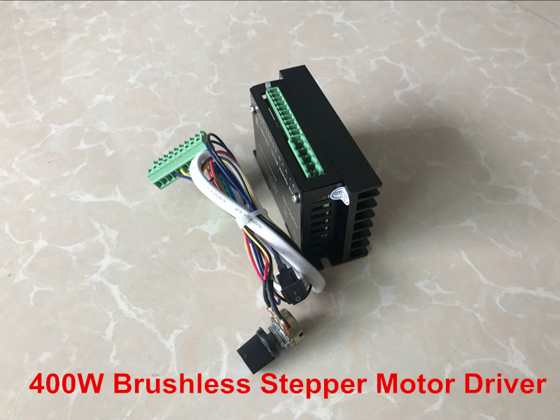 Free shipping 2018 CNC Controller DC 20-50V Stepper Motor Driver Brushless DC Motor Driver For 400W Machine Tool Spindle new er11 48v 400w brushless spindle motor drive kits high speed with dc motor drive spindle controller cnc diy milling machine