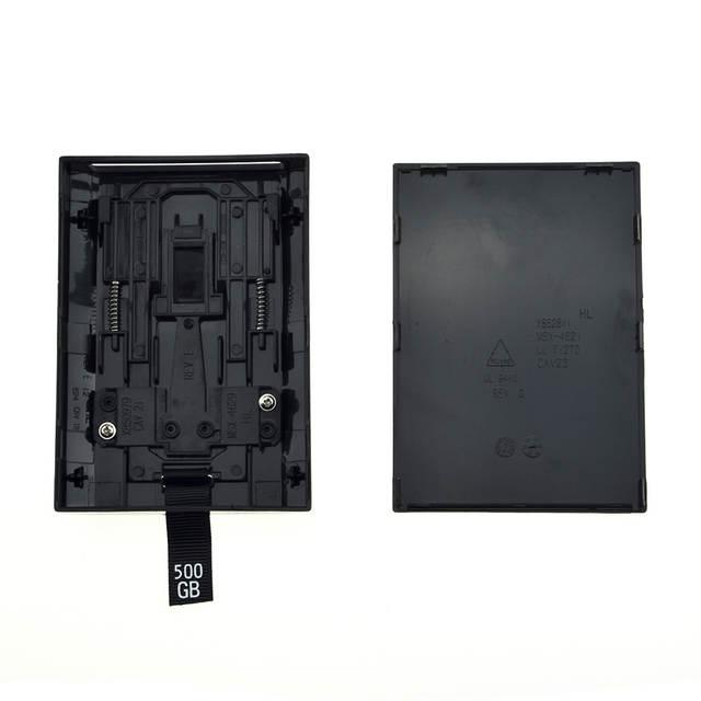 Hard disk case xbox360 hdd hard drive box for xbox 360 slim.
