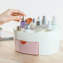 YiCleaner New Makeup organizer Plastic Cosmetics Organizers Jewelry Drawers Organizing Boxes Make up Storage Bathroom Box(China)